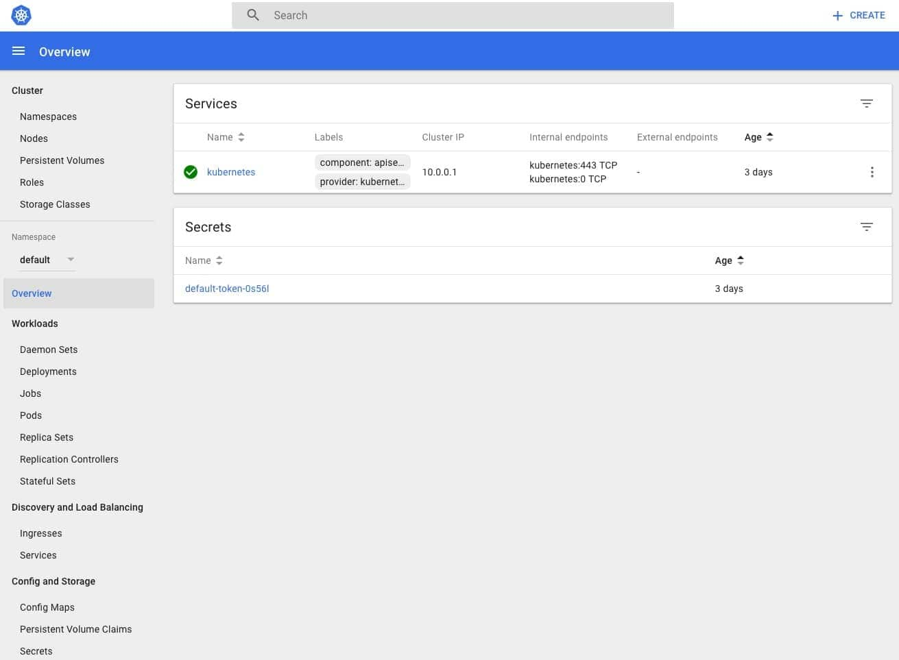 Kubernetes dashboard is a general-purpose web UI for Kubernetes clusters.